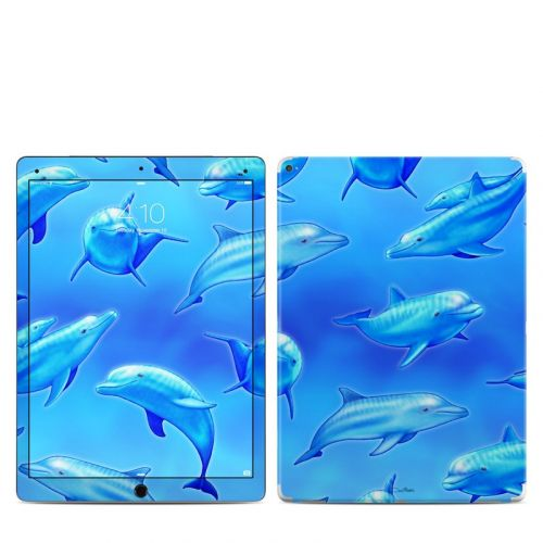 Swimming Dolphins iPad Pro 12.9-inch 1st Gen Skin