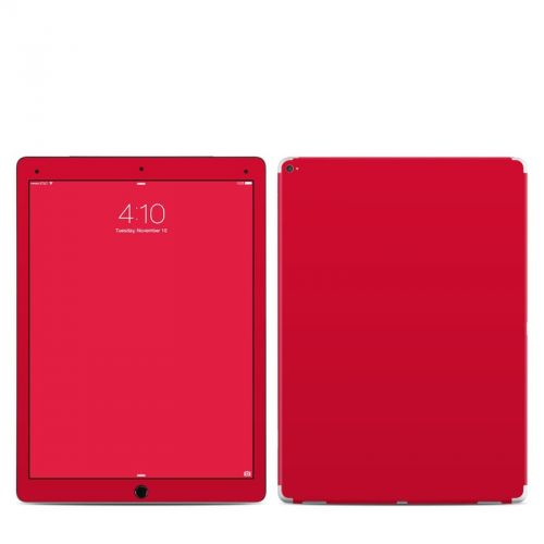 Solid State Red iPad Pro Skin