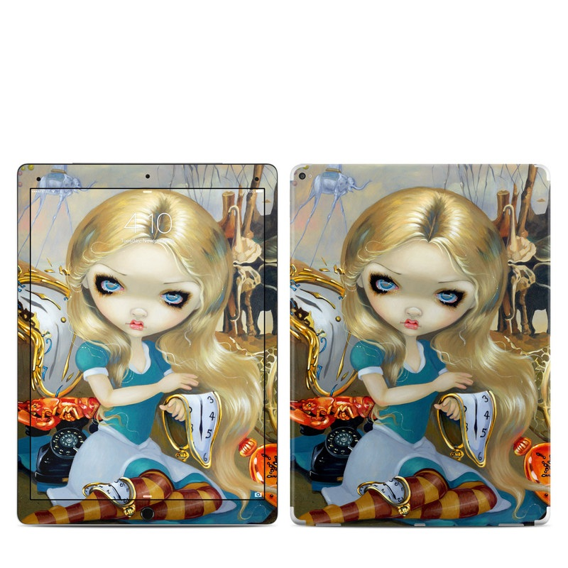 Alice in a Dali Dream iPad Pro 12.9-inch Skin