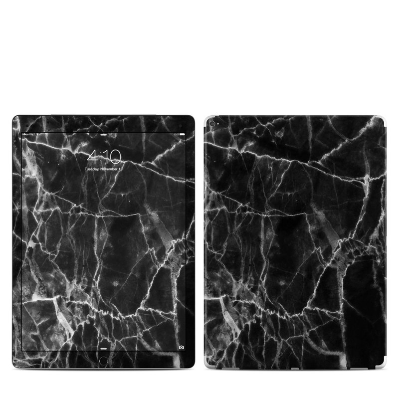 iPad Pro 12.9-inch 1st Gen Skin design of Black, White, Nature, Black-and-white, Monochrome photography, Branch, Atmosphere, Atmospheric phenomenon, Tree, Sky with black, white colors