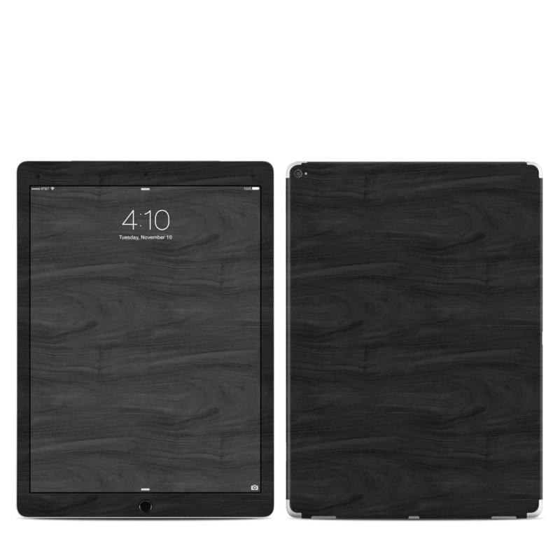 Black Woodgrain iPad Pro 12.9-inch 1st Gen Skin
