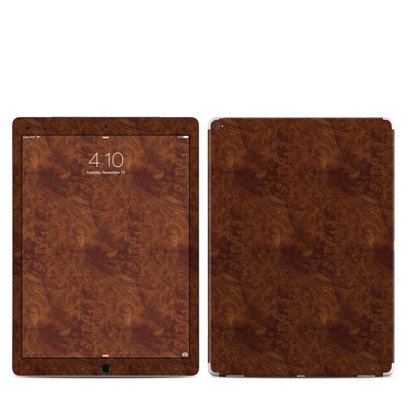 Dark Burlwood iPad Pro 12.9-inch Skin