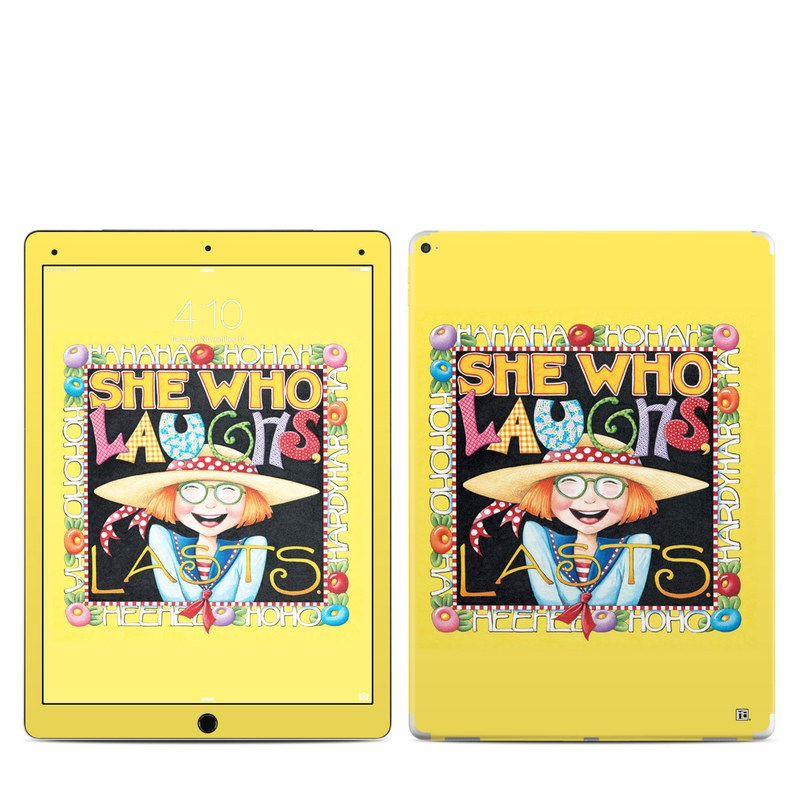 She Who Laughs iPad Pro 12.9-inch Skin