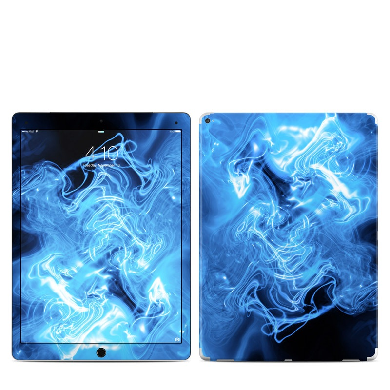 Blue Quantum Waves iPad Pro 12.9-inch Skin