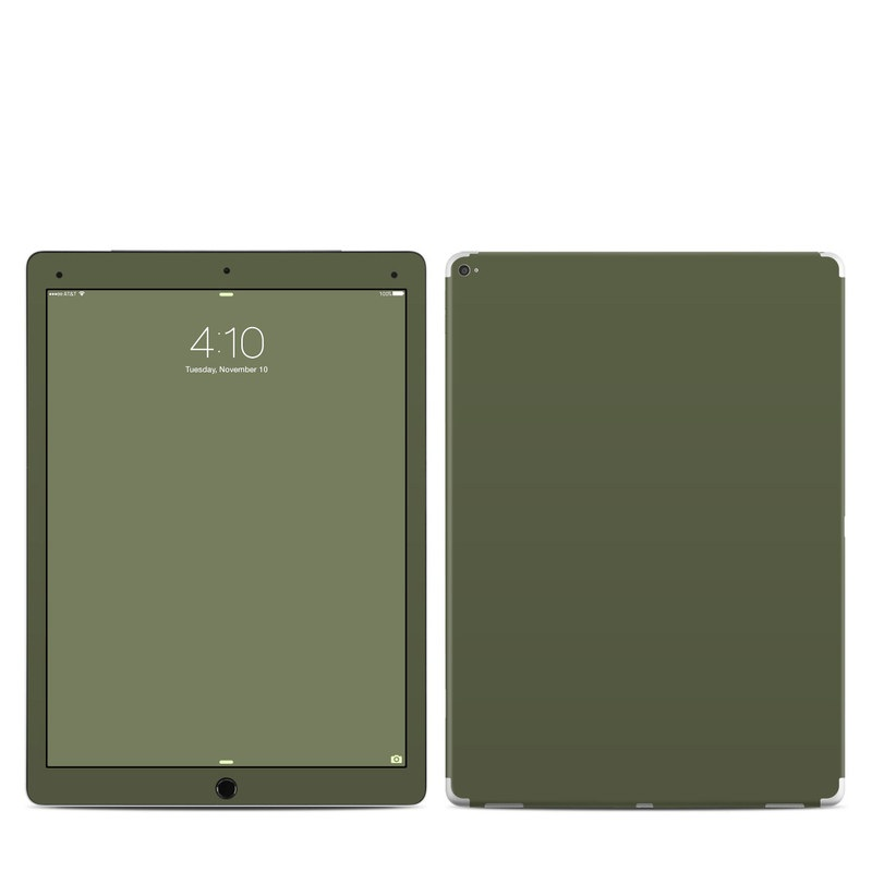 Solid State Olive Drab iPad Pro 12.9-inch Skin