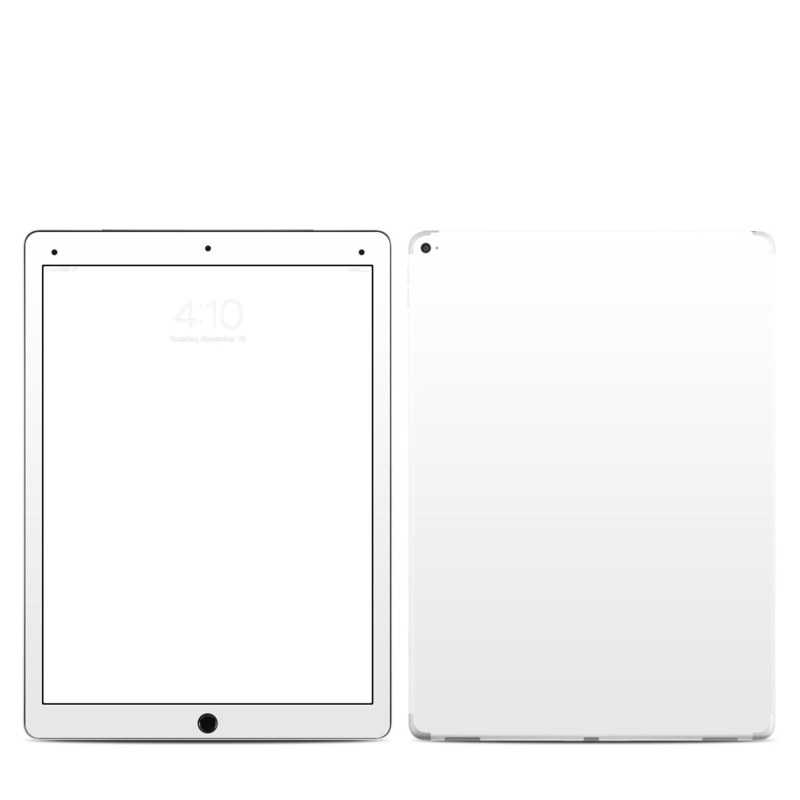 Solid State White iPad Pro 12.9-inch Skin