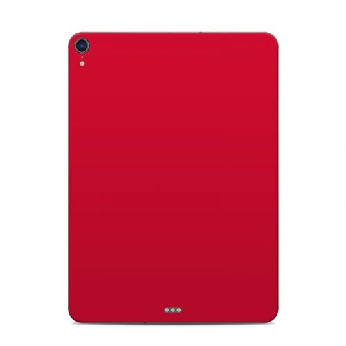 Solid State Red iPad Pro 11-inch Skin