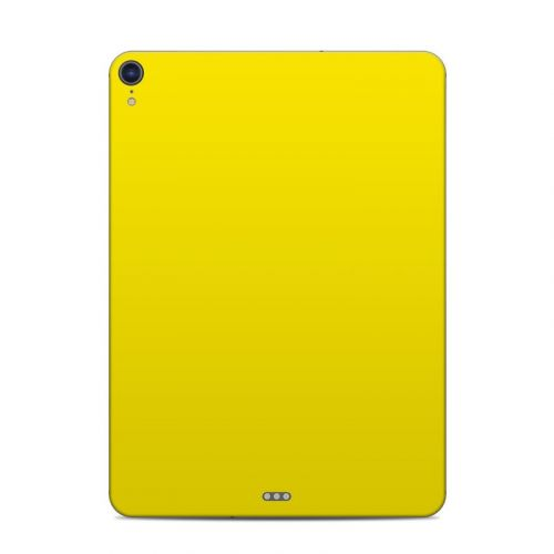 Solid State Yellow iPad Pro 11-inch Skin