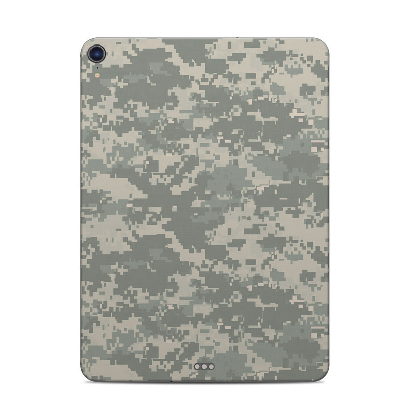 iPad Pro 3rd Gen 11-inch Skin design of Military camouflage, Green, Pattern, Uniform, Camouflage, Design, Wallpaper with gray, green colors