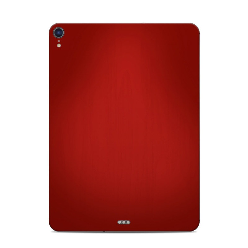 iPad Pro 3rd Gen 11-inch Skin design of Red, Maroon, Orange, Brown, Peach, Pattern, Magenta with red colors