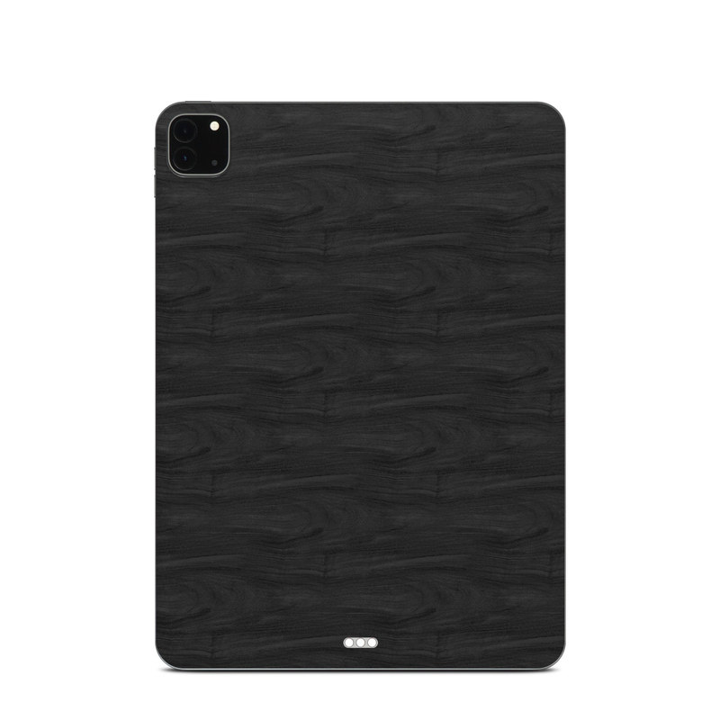 iPad Pro 11-inch Skin design of Black, Brown, Wood, Grey, Flooring, Floor, Laminate flooring, Wood flooring with black colors
