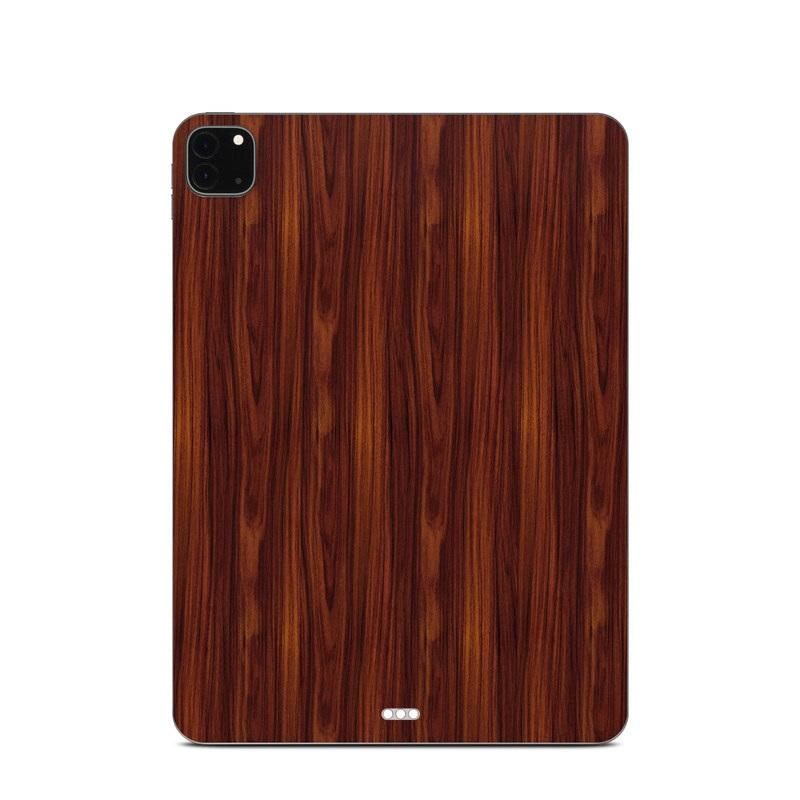 iPad Pro 11-inch Skin design of Wood, Red, Brown, Hardwood, Wood flooring, Wood stain, Caramel color, Laminate flooring, Flooring, Varnish with black, red colors