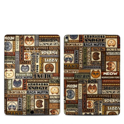 Cat Breeds iPad Pro 10.5-inch Skin