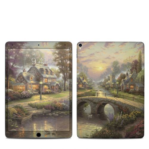 Sunset On Lamplight Lane iPad Pro 10.5-inch Skin