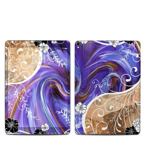 Purple Waves iPad Pro 10.5-inch Skin