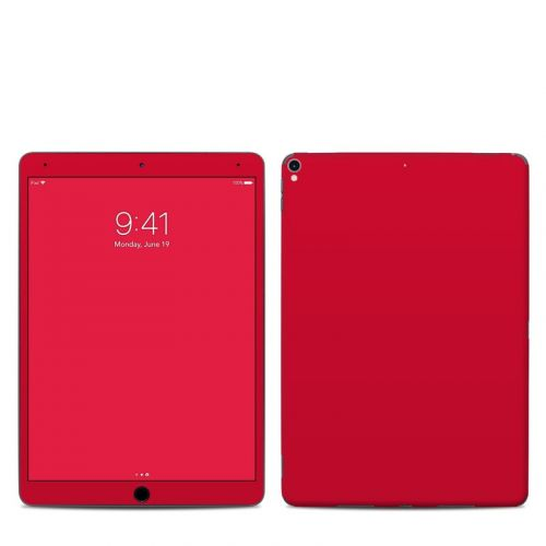 Solid State Red iPad Pro 10.5-inch Skin