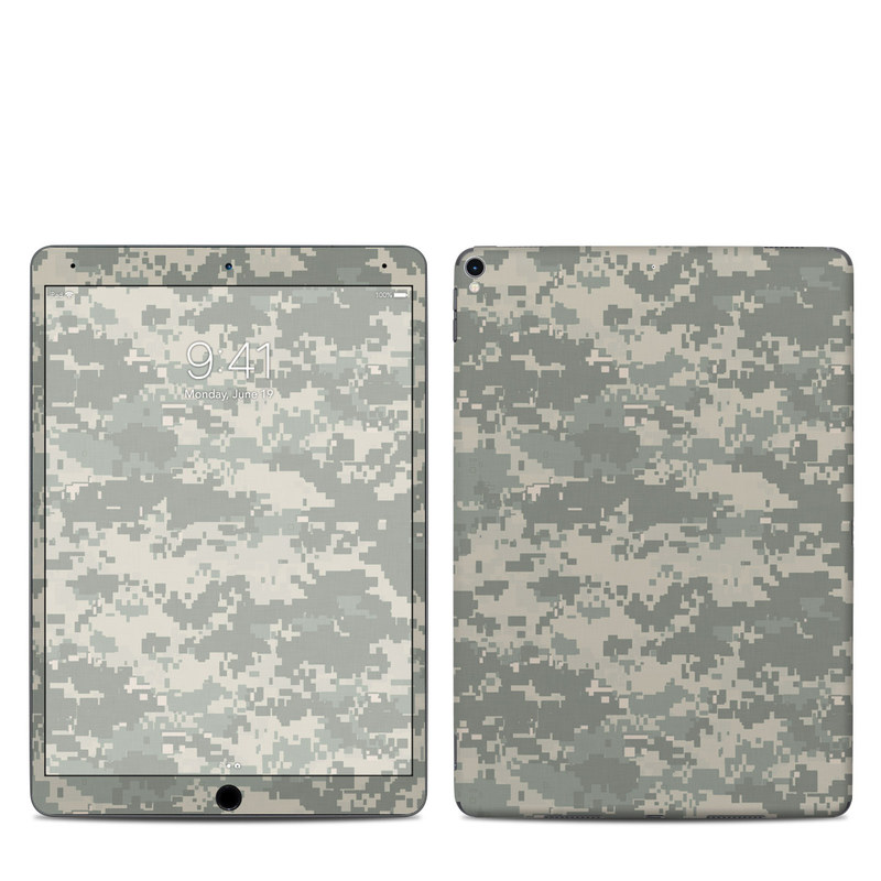 iPad Pro 2nd Gen 10.5-inch Skin design of Military camouflage, Green, Pattern, Uniform, Camouflage, Design, Wallpaper with gray, green colors