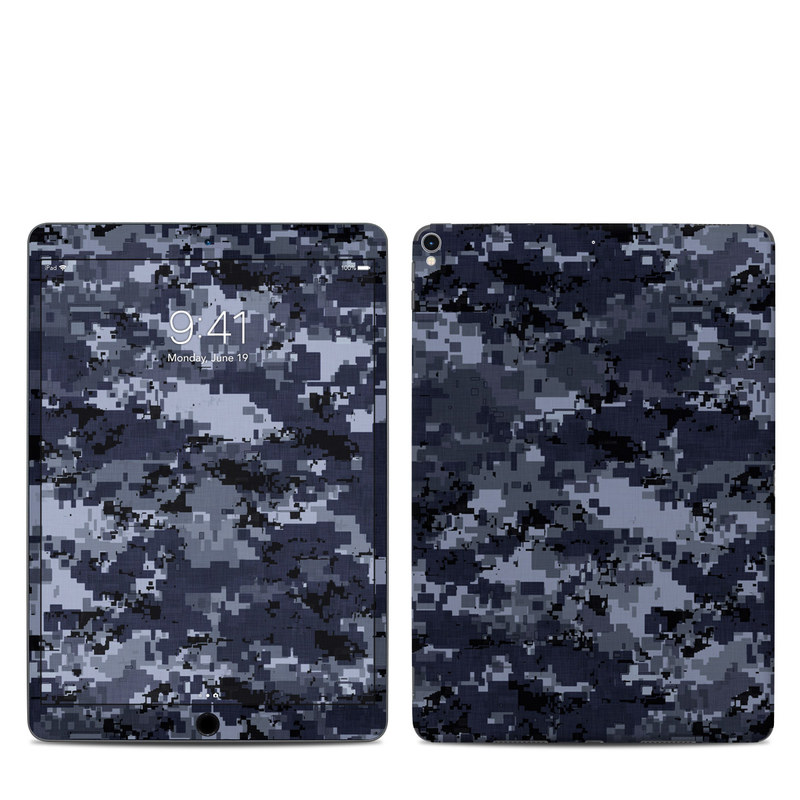 Digital Navy Camo iPad Pro 10.5-inch Skin