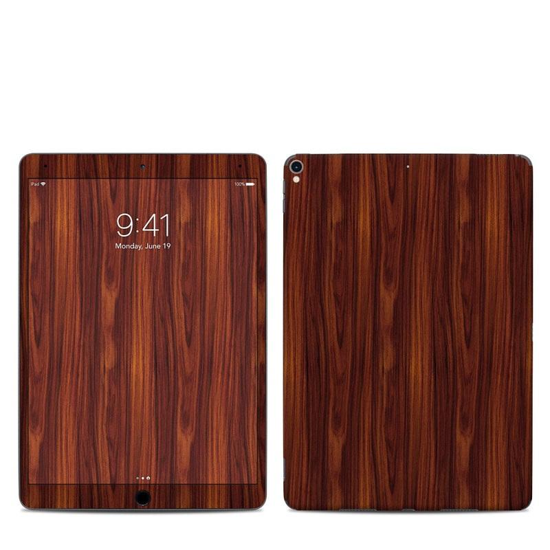 iPad Pro 2nd Gen 10.5-inch Skin design of Wood, Red, Brown, Hardwood, Wood flooring, Wood stain, Caramel color, Laminate flooring, Flooring, Varnish with black, red colors