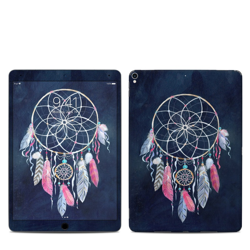 iPad Pro 10.5-inch Skin design of Fashion accessory, Jewellery, Textile, Illustration, Turquoise, Art, Still life photography with blue, white, pink, yellow, orange, blue colors