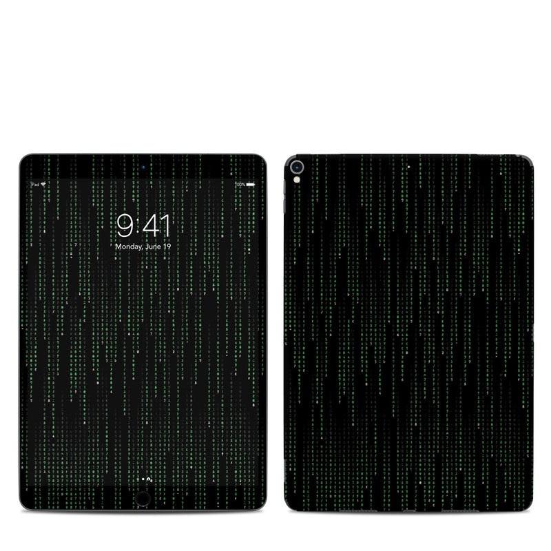 iPad Pro 2nd Gen 10.5-inch Skin design of Green, Black, Pattern, Symmetry with black colors