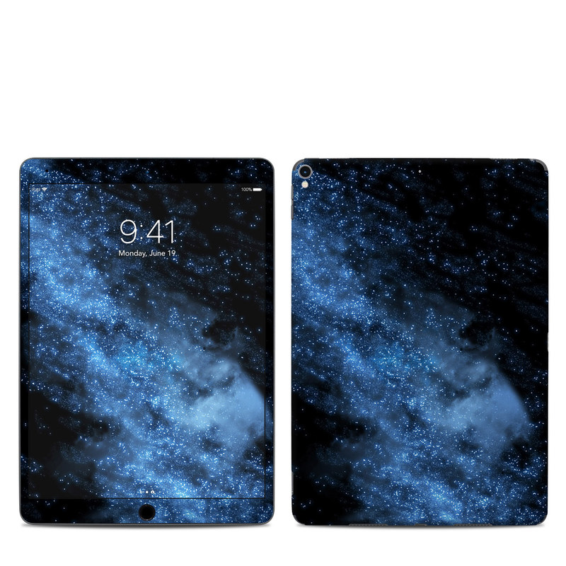 iPad Pro 10.5-inch Skin design of Sky, Atmosphere, Black, Blue, Outer space, Atmospheric phenomenon, Astronomical object, Darkness, Universe, Space with black, blue colors