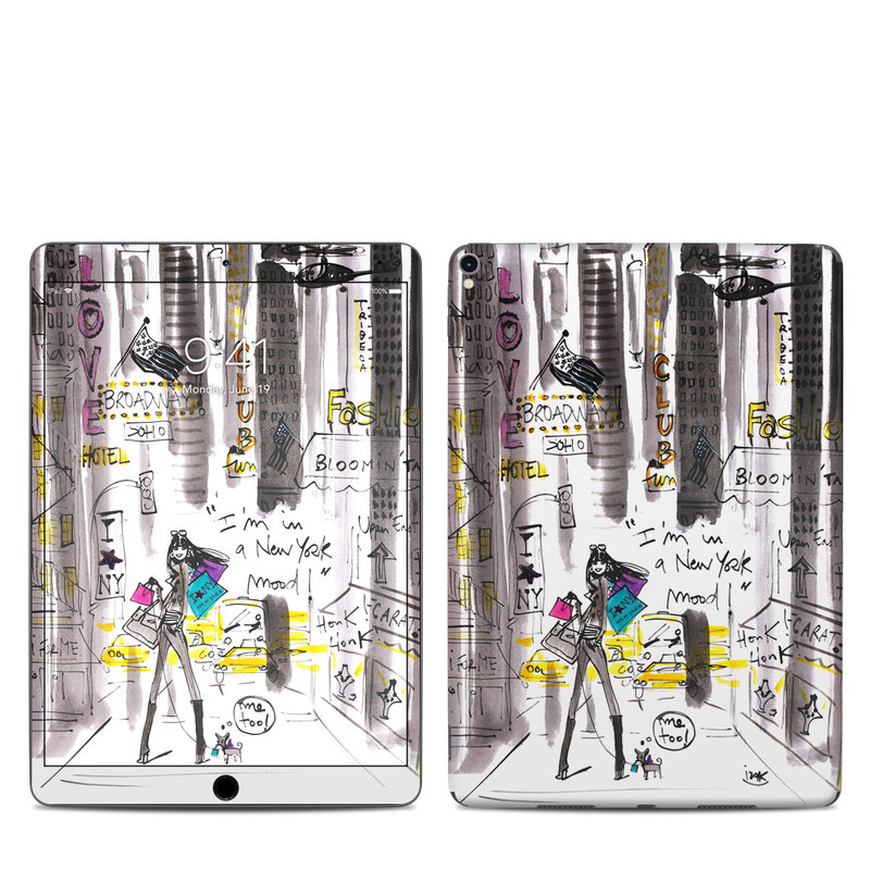 iPad Pro 2nd Gen 10.5-inch Skin design of Drawing, Sketch, Fictional character, Graphic design, Illustration, Art with gray, white, black, red, green colors