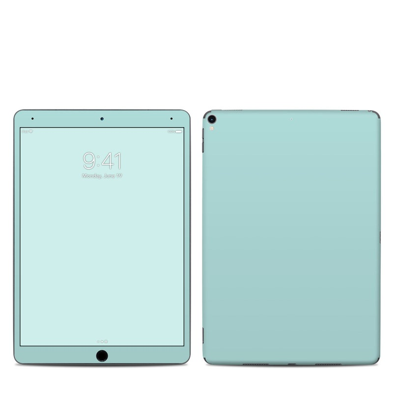 iPad Pro 2nd Gen 10.5-inch Skin design of Green, Blue, Aqua, Turquoise, Teal, Azure, Text, Daytime, Yellow, Sky with blue colors