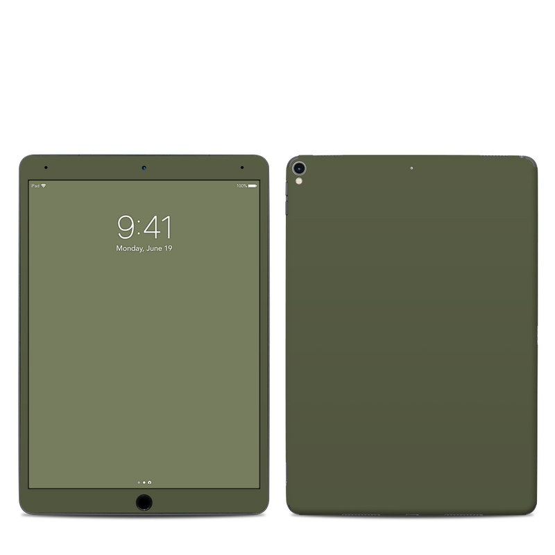 iPad Pro 2nd Gen 10.5-inch Skin design of Green, Brown, Text, Yellow, Grass, Font, Pattern, Beige with green colors