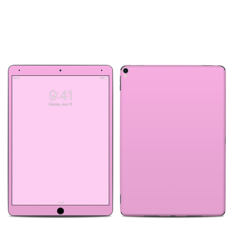 iPad Pro 2nd Gen 10.5-inch Skin design of Pink, Violet, Purple, Red, Magenta, Lilac, Sky, Material property, Peach with pink colors