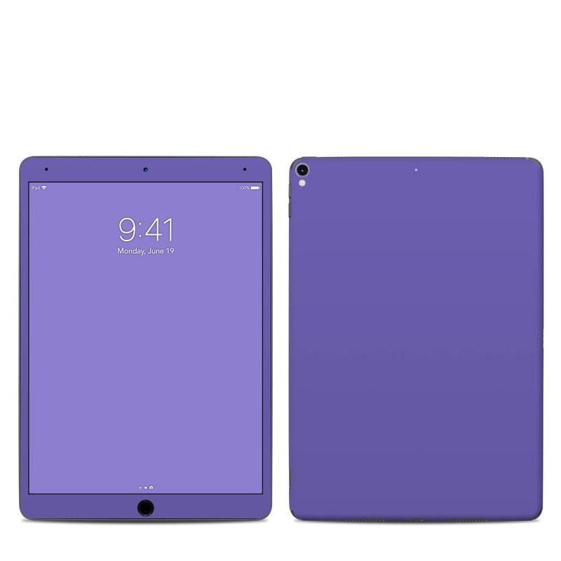 iPad Pro 2nd Gen 10.5-inch Skin design of Blue, Violet, Sky, Purple, Daytime, Black, Lilac, Cobalt blue, Pink, Azure with purple colors