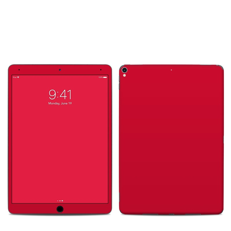iPad Pro 10.5-inch Skin design of Red, Pink, Maroon, Purple, Orange, Violet, Magenta, Material property, Font, Peach with red colors