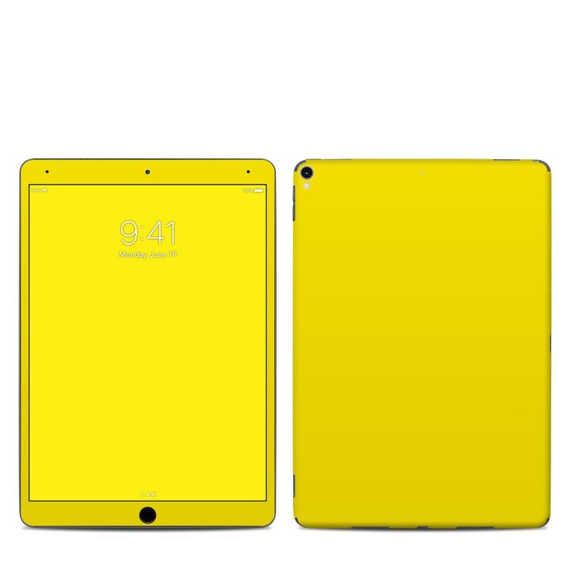 Solid State Yellow iPad Pro 10.5-inch Skin