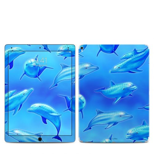 Swimming Dolphins iPad Pro 12.9-inch 2nd Gen Skin