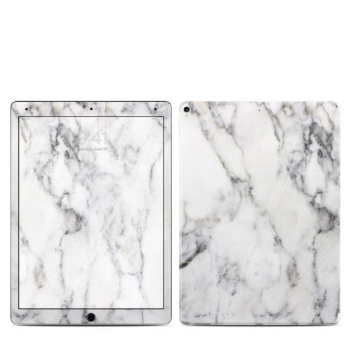 White Marble iPad Pro 2nd Gen 12.9-inch Skin