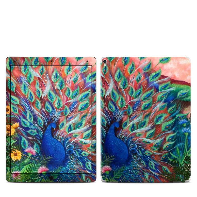 Coral Peacock iPad Pro 12.9-inch (2017) Skin