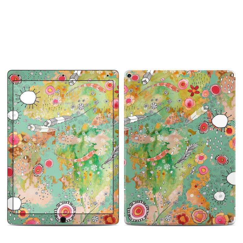 Feathers Flowers Showers iPad Pro 12.9-inch (2017) Skin
