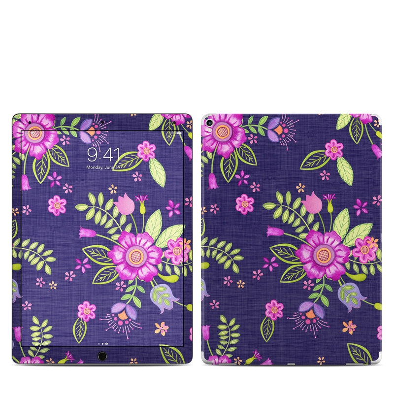 Folk Floral iPad Pro 12.9-inch (2017) Skin