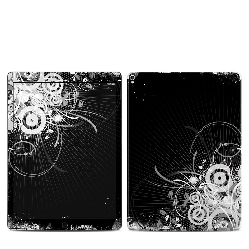 iPad Pro 12.9-inch 2nd Gen Skin design of Black, Monochrome, Black-and-white, Monochrome photography, Graphic design, Illustration, Design, Stock photography, Photography, Still life photography with black, gray, white colors