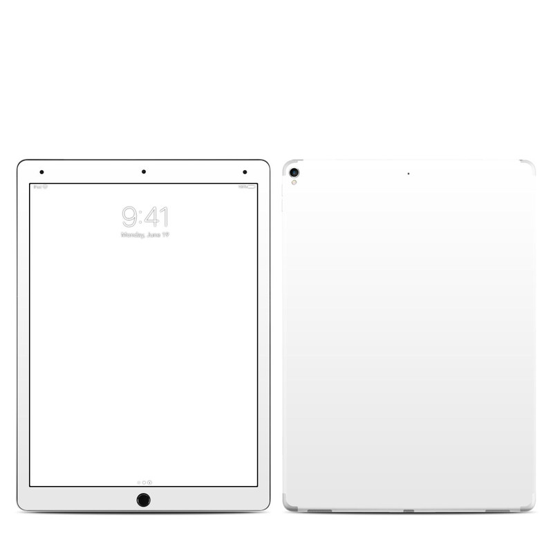 Solid State White iPad Pro 12.9-inch 2nd Gen Skin