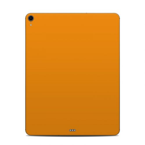 Solid State Orange iPad Pro 12.9-inch 3rd Gen Skin