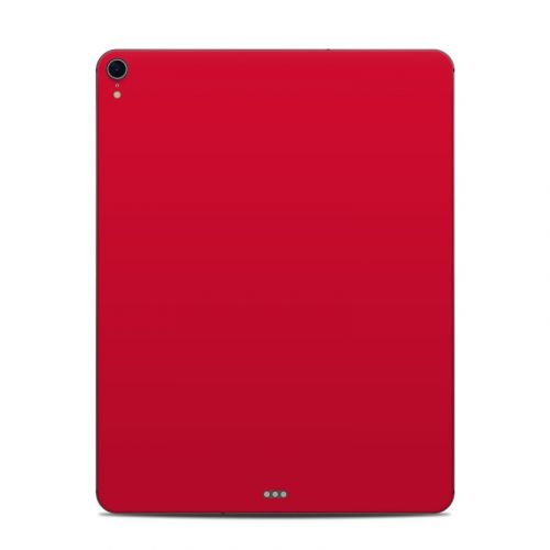 Solid State Red iPad Pro 12.9-inch 3rd Gen Skin
