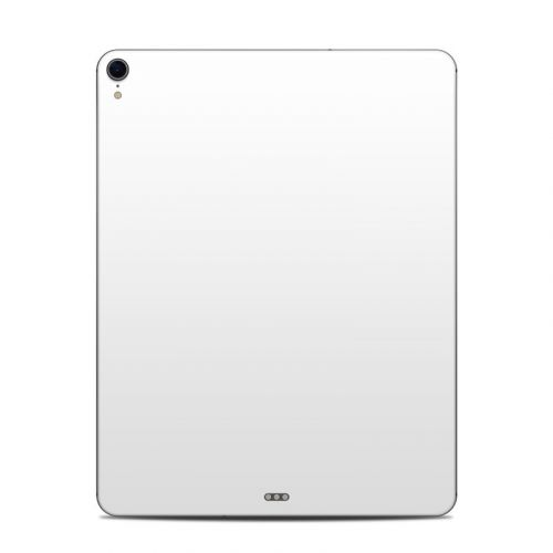 Solid State White iPad Pro 12.9-inch 3rd Gen Skin