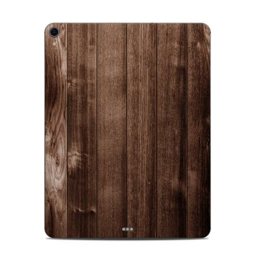 Stained Wood iPad Pro 12.9-inch 3rd Gen Skin