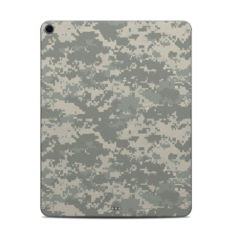 iPad Pro 3rd Gen 12.9-inch Skin design of Military camouflage, Green, Pattern, Uniform, Camouflage, Design, Wallpaper with gray, green colors