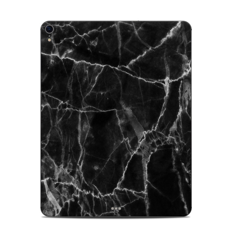 iPad Pro 12.9-inch 3rd Gen Skin design of Black, White, Nature, Black-and-white, Monochrome photography, Branch, Atmosphere, Atmospheric phenomenon, Tree, Sky with black, white colors