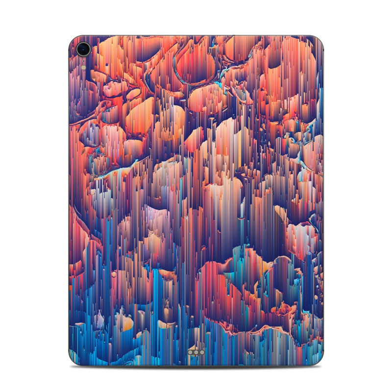 iPad Pro 12.9-inch 3rd Gen Skin design of Blue, Turquoise, Formation, Sky, Design, City, Geology, Photography, Stock photography, Landscape with blue, yellow, orange, red, pink colors