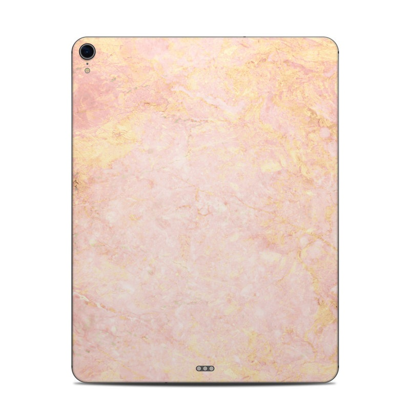 iPad Pro 12.9-inch 3rd Gen Skin design of Pink, Peach, Wallpaper, Pattern with pink, yellow, orange colors