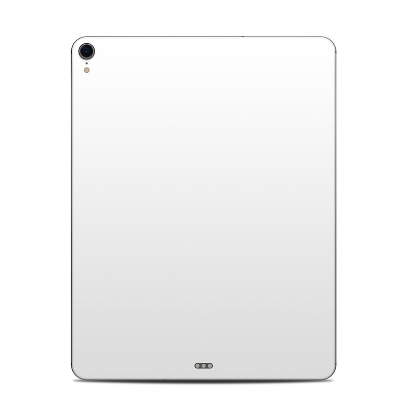 iPad Pro 12.9-inch 3rd Gen Skin design of White, Black, Line with white colors