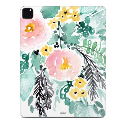 Blushed Flowers iPad Pro 12.9-inch Skin